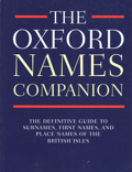 Cover of the Oxford Names Companion